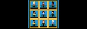 VIRTUAL SQUARES GAME SHOW with Host VICKIE SHAW!