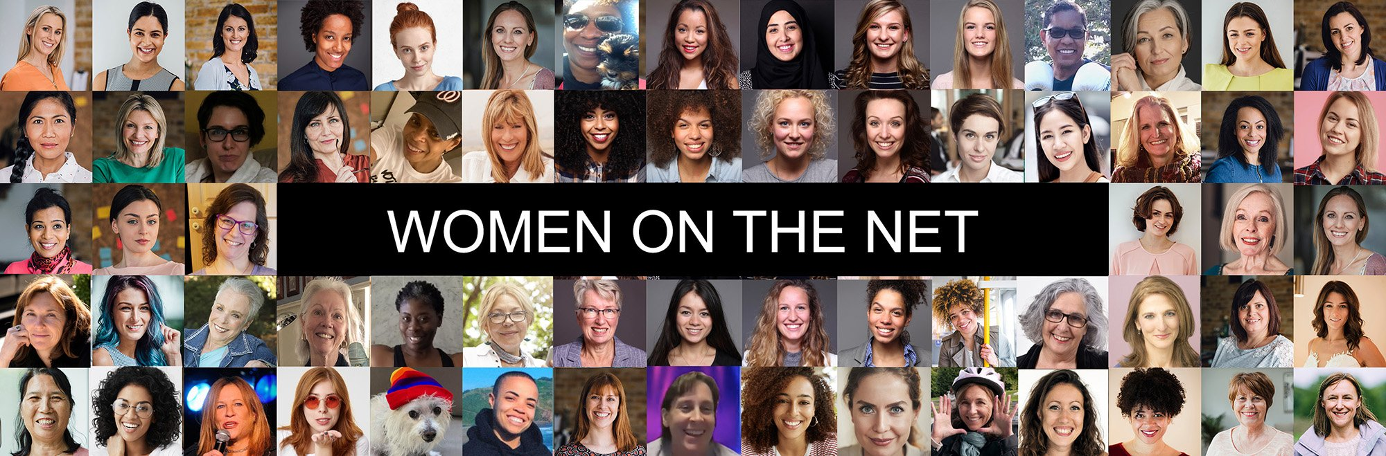 Header Image With Many Women